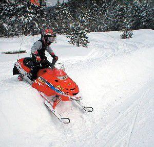 Snowy Rider