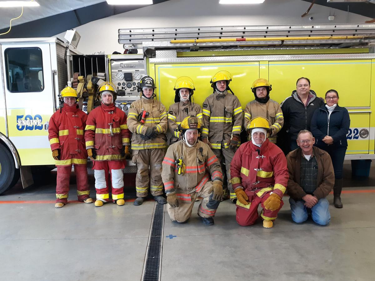 Firefighters from the program