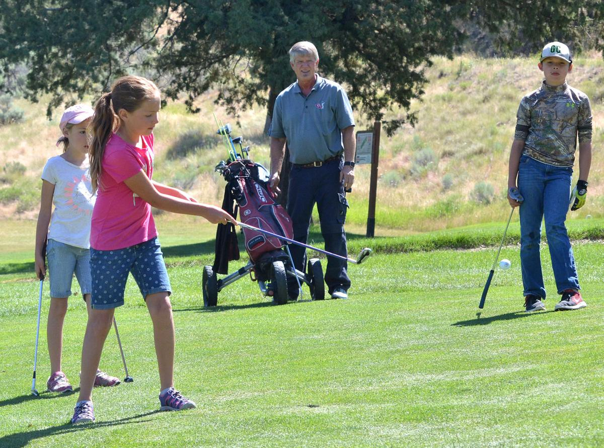 Youth golfers learn the ropes