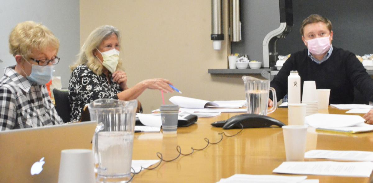 Hospital board meeting