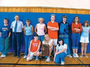 Mt. Vernon Middle School receives award