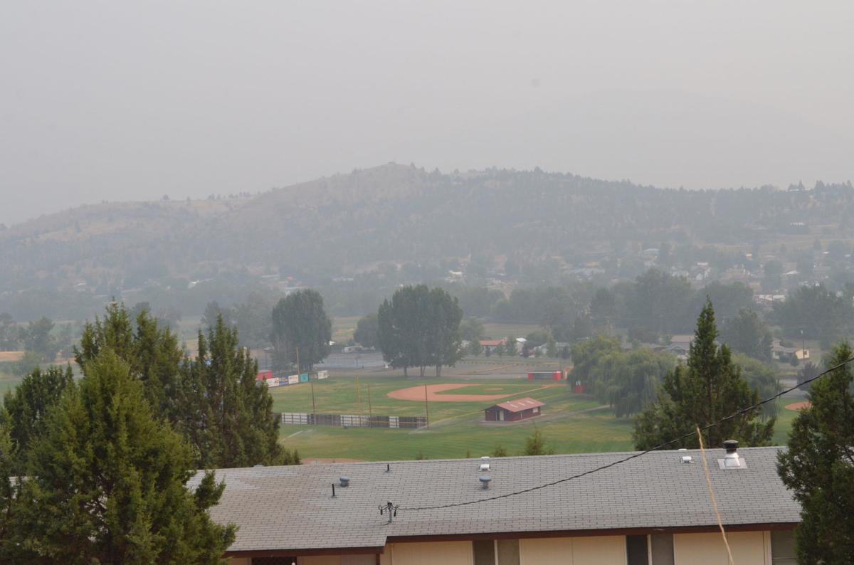 Smoke brings health advisory warnings
