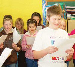 Local fourth-graders learn 'the dream'