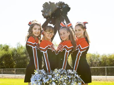 Enthusiasm for cheer is contagious at Prairie City School