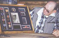 Woodworth recovers WWII decorations