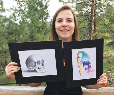 Art Scholarship recipient