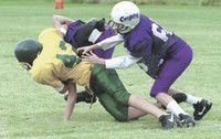 MVMS football team tussles with Pendleton