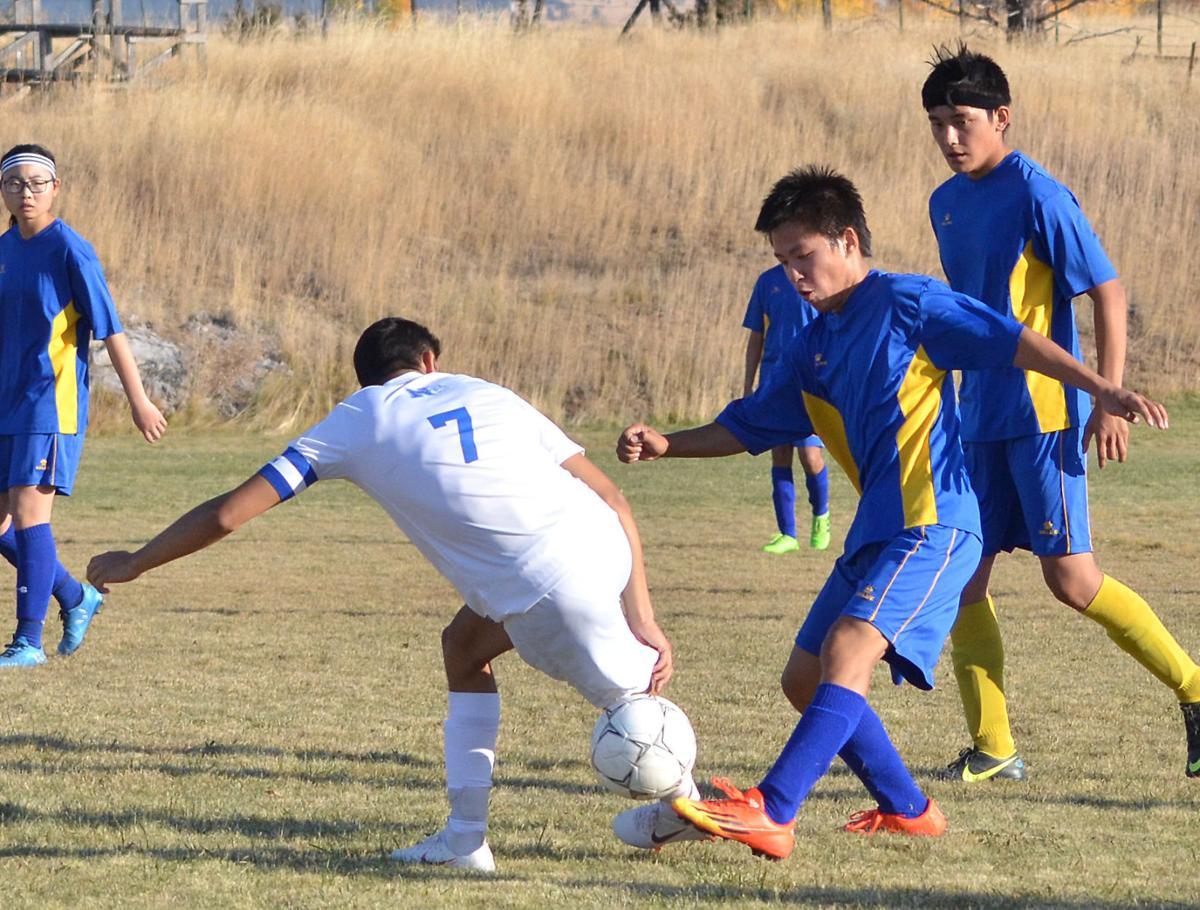 Nyssa overtakes Long Creek/Ukiah at Long Creek soccer field