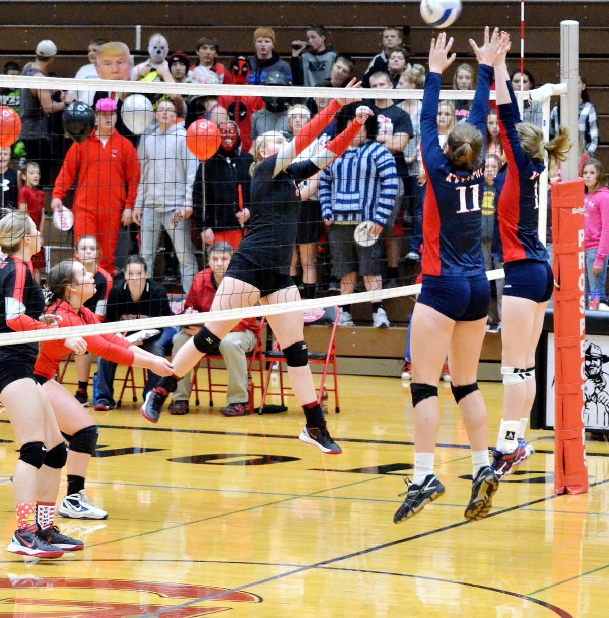 Lady Pros punch ticket to volleyball state championship