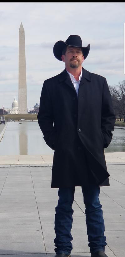 Hamsher visits Washington, D.C.