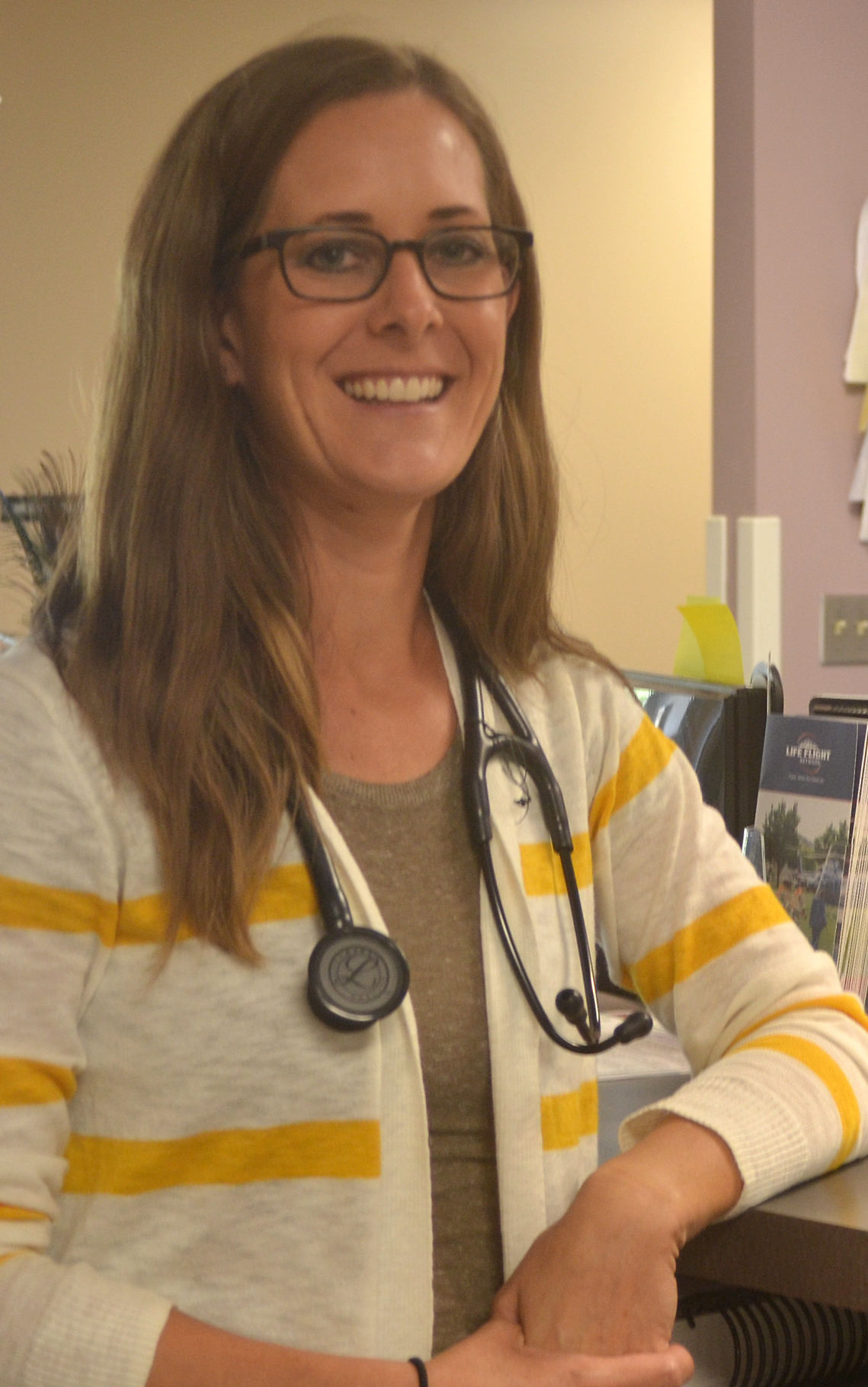 New physician assistant enjoys country life