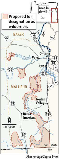 Malheur proposed wilderness