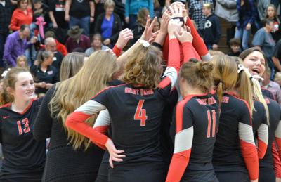 Grant Union volleyball team moves on to state semifinal round