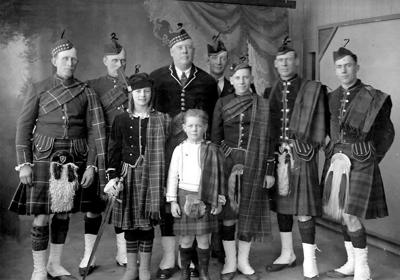 Scottish-American community was a thriving group