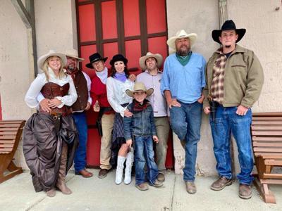 Whiskey Gulch Gang celebrating 62' days