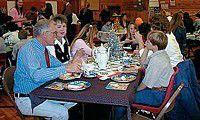 Seneca Elementary pours its annual Christmas tea