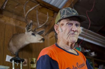 Big game hunter crafts his own bullets
