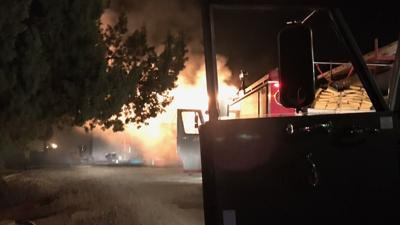 Mt.Vernon structure fire