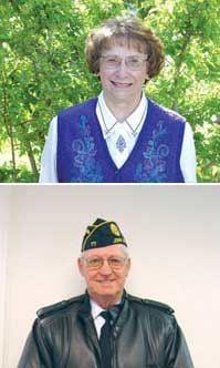 Legion honors Bauer and Patt
