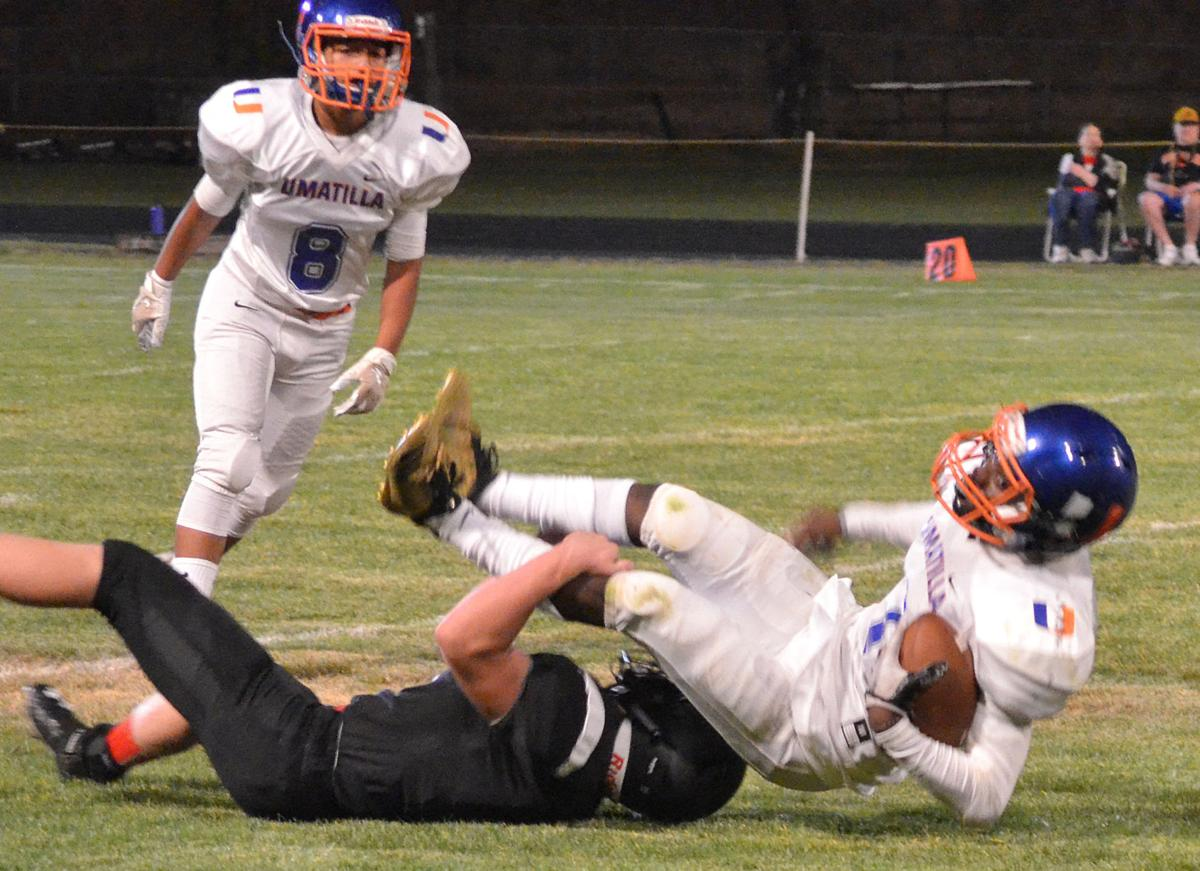 Pick six gives Grant Union boost in battle with Umatilla