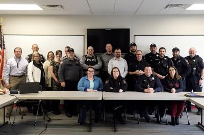 Local police train in defusing mental crisis situations