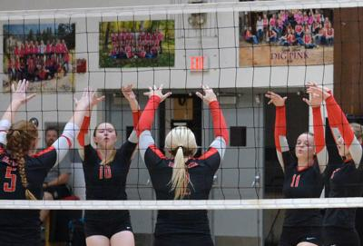 Grant Union volleyball sweeps three league matches