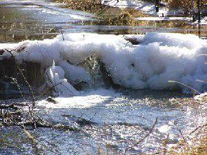 Snowfall running below average in state