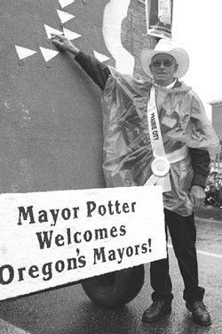 Horrell joins mayors walk