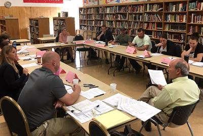 Prairie City School planning meeting