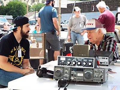 Local radio operators participate in national exercise
