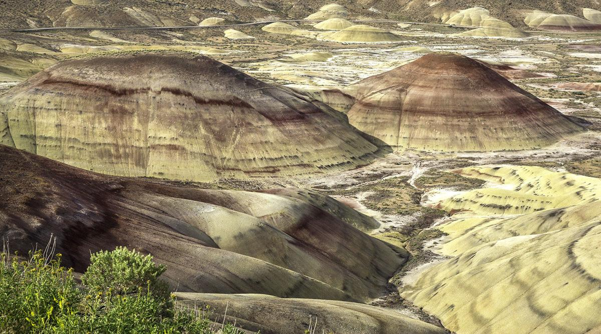 Painted Hills live up to billing