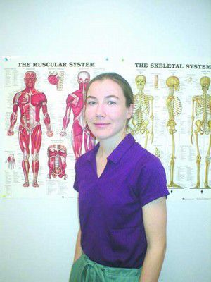 Massage therapist offers relief from pain