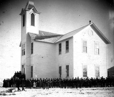 Long Creek School, 1890