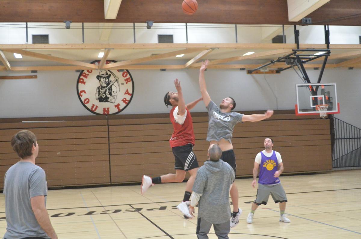 Adult basketball league