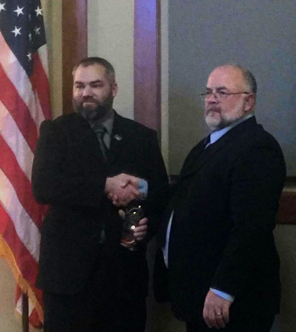 Mobley awarded Commander of the Year