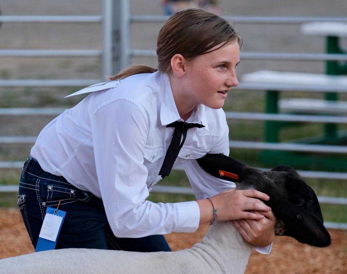 082819 4-H participant Genna Strozewski with Groot.jpg
