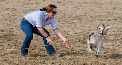 082819 In-county rodeo Audrey Williams goat tying.jpg