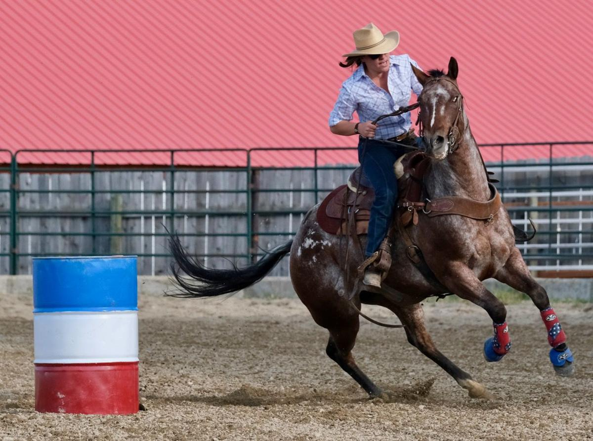 082819 Jefferson County Fair and Rodeo Audrey barrel racing.jpg