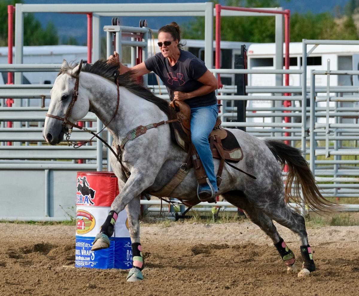 082819 Jefferson County Fair and Rodeo barrel racing Kami.jpg