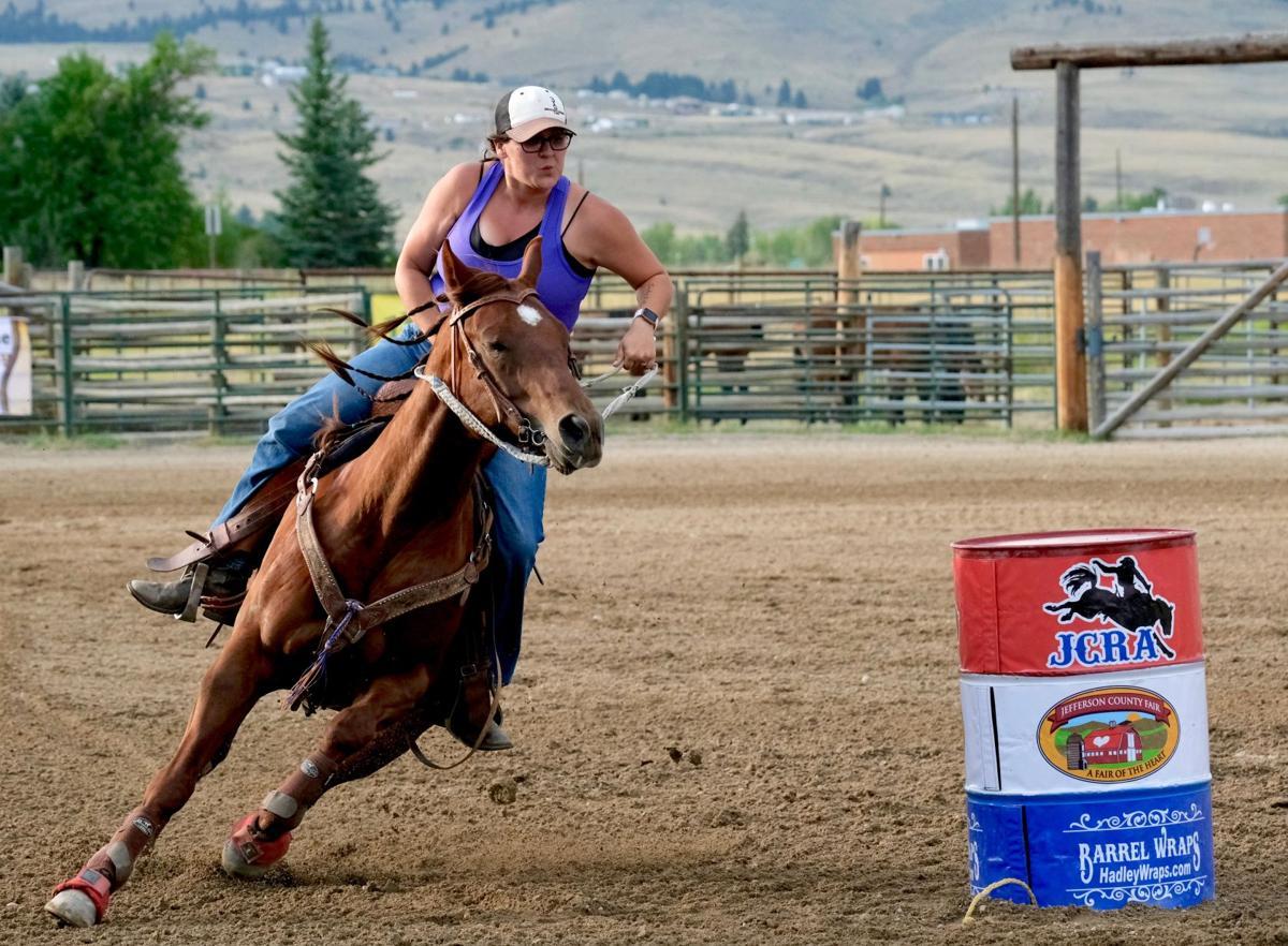 082819 Jefferson County fair and Rodeo barrel racing Shayla.jpg
