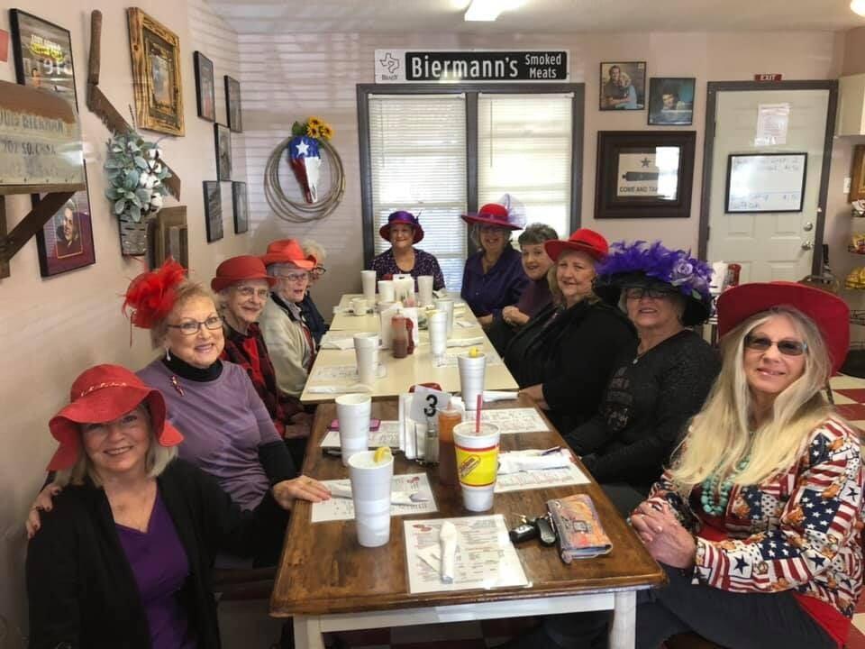 01-07-20 - Red Hats Caught Having Much Frivolity at Bierman's