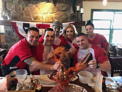 16 Pound Lobster for Tip-A-Cop