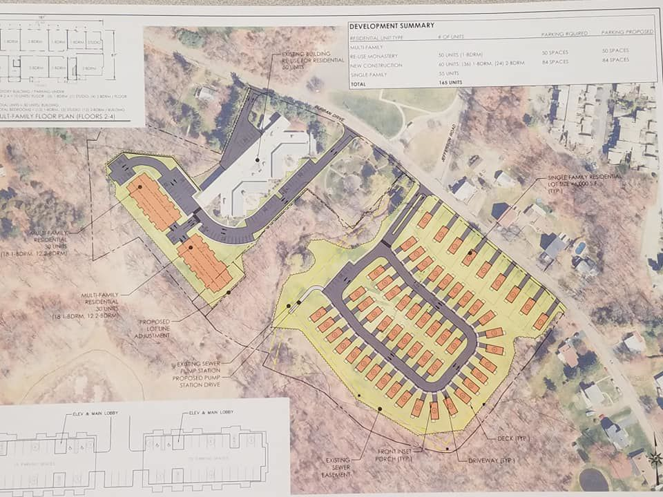 Burban Drive Development Proposed March 2019