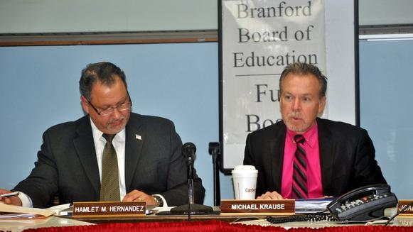 BOE Chair Krause Takes Responsibility for Lack of Drills, Safety Measures at Branford Schools