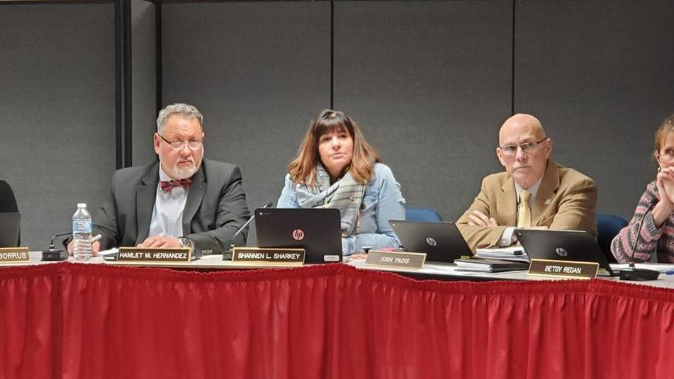 Sharkey Voted New Board of Ed Chair