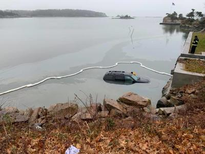 Car in Water