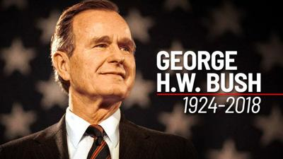Moment Of Silence Wednesday In Memory Of President George H W Bush