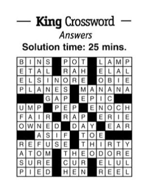 crossword 10/5