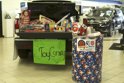 Salvation Army Toy Convoy Raises Gifts For Children In Need News