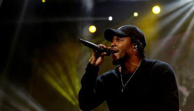 Kendrick raps about hip hop artists